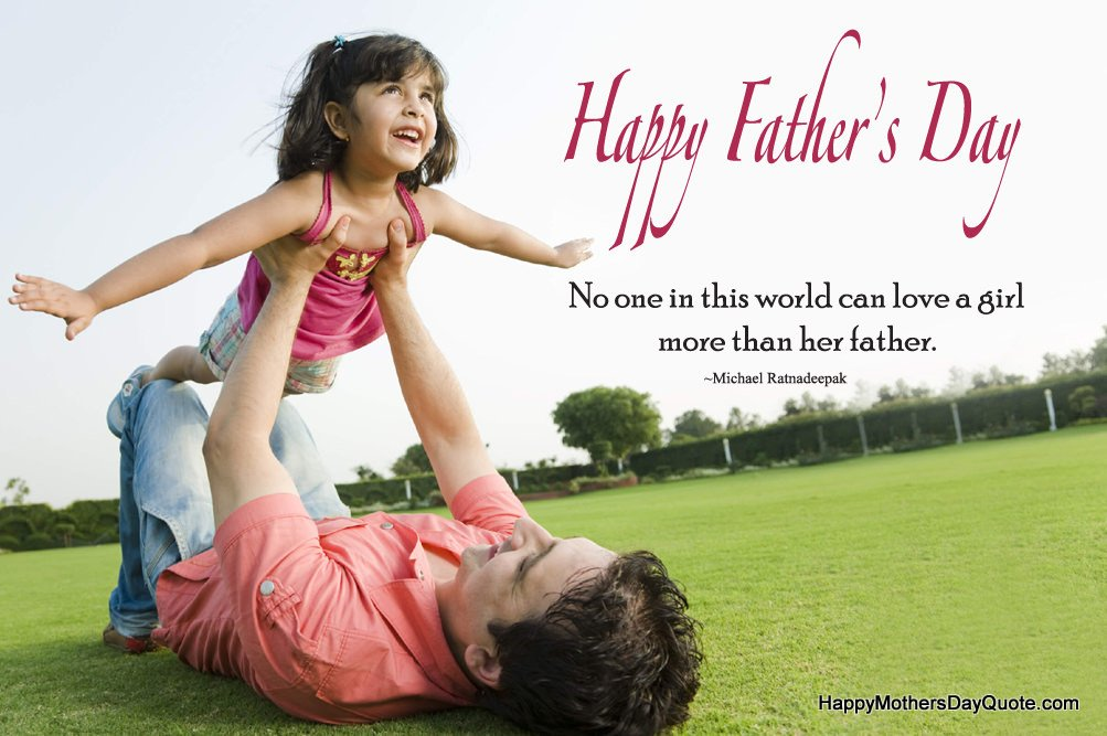 Happy Fathers Day Images With Quotes For Dad Son Daughter HD Pics