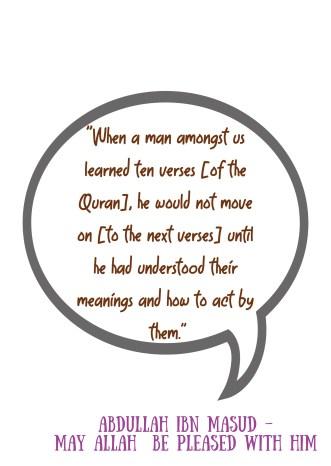 Abdullah ibn Masud Quote