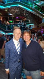 Our Cruise Director Eric