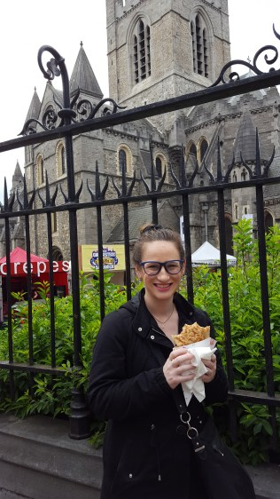 Crepe at Christ Church Cathedral