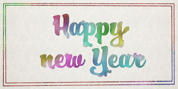 Happy New Year Paintings Backgroubds For Facebook Cover Photos 1