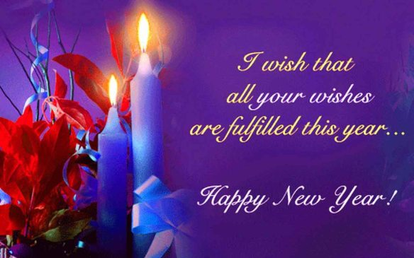 Wishes Dreams Happy New Year Wallpaper