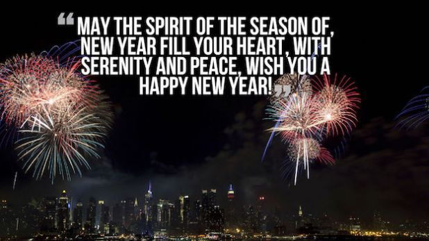 Happy New Year Blessings In English