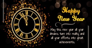 Happy New Year Positive Blessings