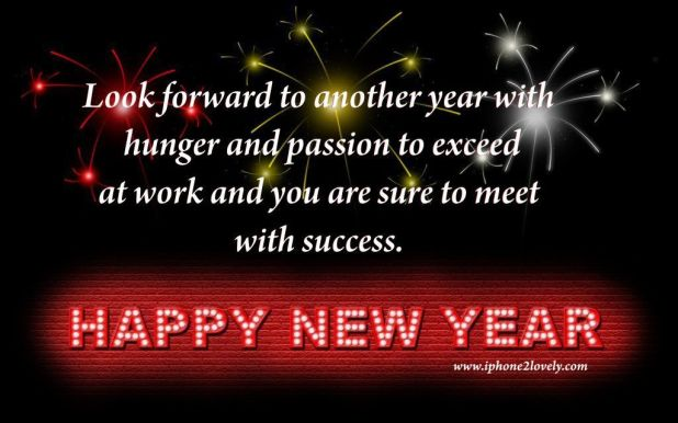 Happy New Year Quotes With Success