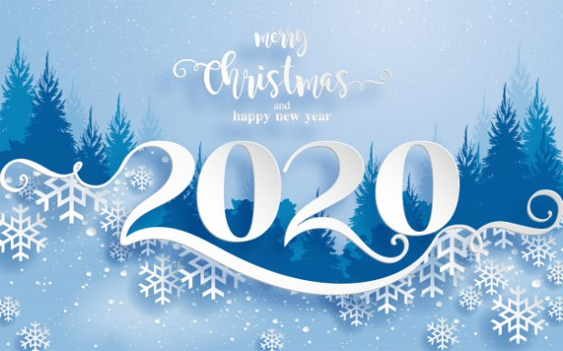 Merry Christmas And Happy New Year 2020 Wishes 1