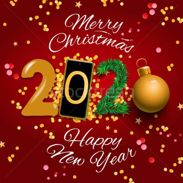 Merry Christmas And Happy New Year 2020 Wishes 19