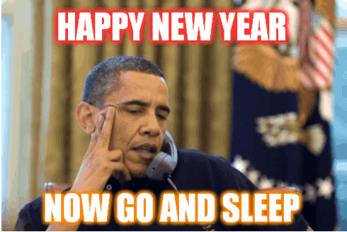 Go And Sleep New Year Resolution Meme