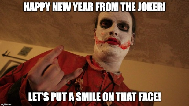 Happy New Year Memes From Joker