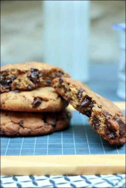 cookies pépites chocolat