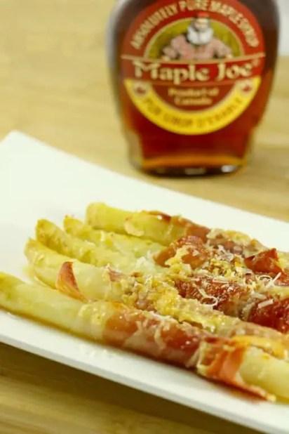 asperges jambon cru