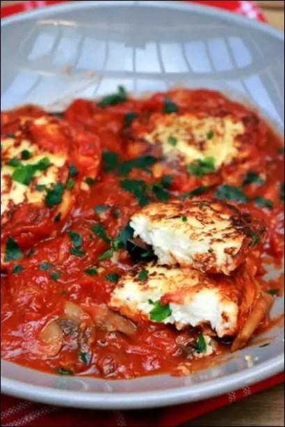 beignets ricotta sauce tomate