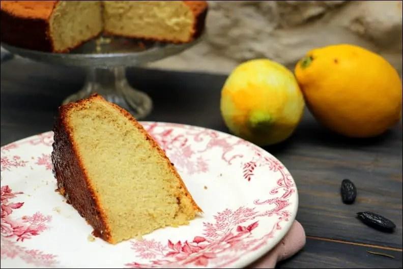 biscuit léger au citron et fève tonka sans beurre