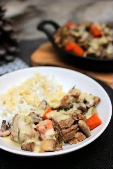 blanquette veau traditionnelle