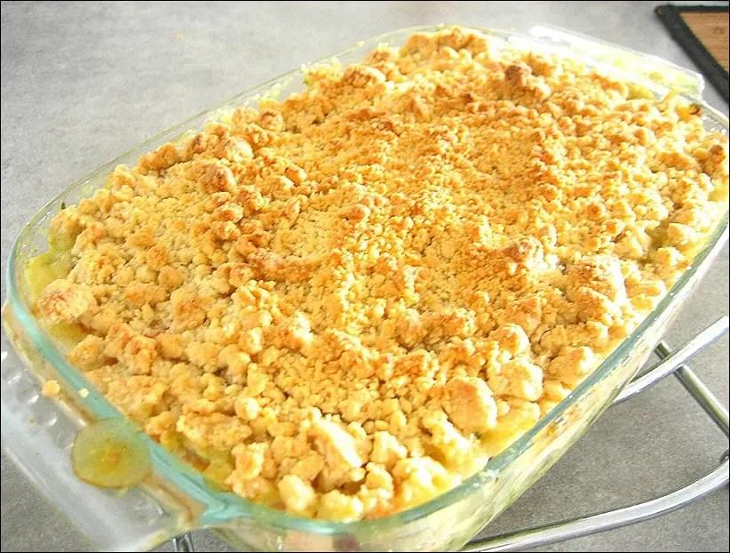 courgette saumon gratin