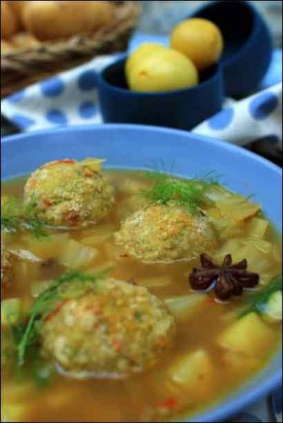 boulettes de poisson pomme de terre