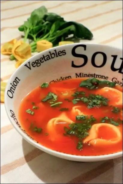 bouillon tomate