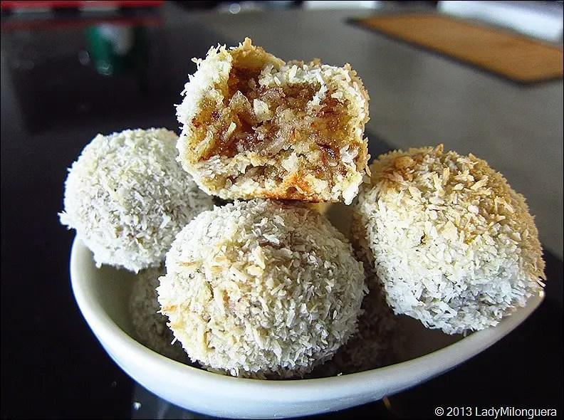 bouchées coco noisette