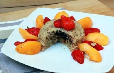 bowl cake banane noisette