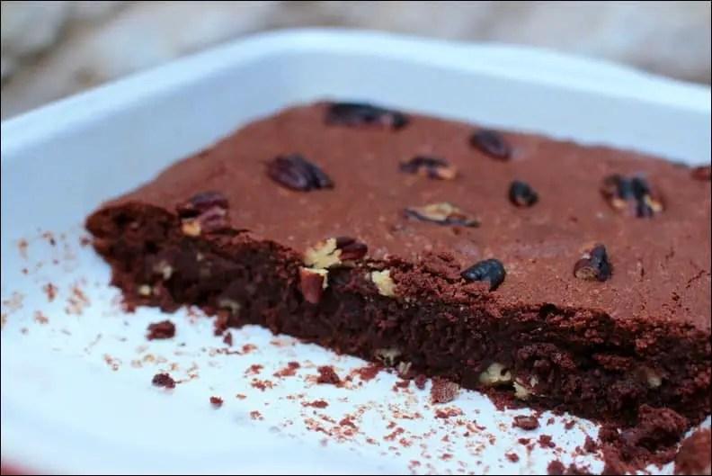 brownie sans gluten noix de pecan