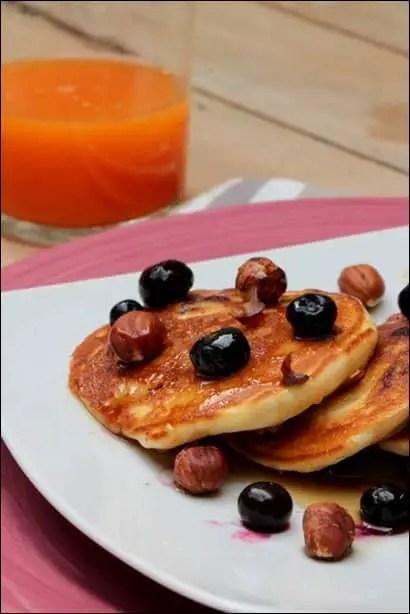 pancakes gonflés