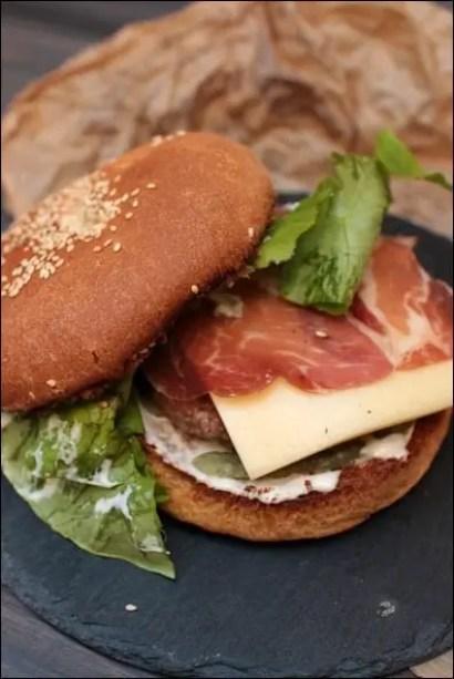 burger bœuf coppa raclette