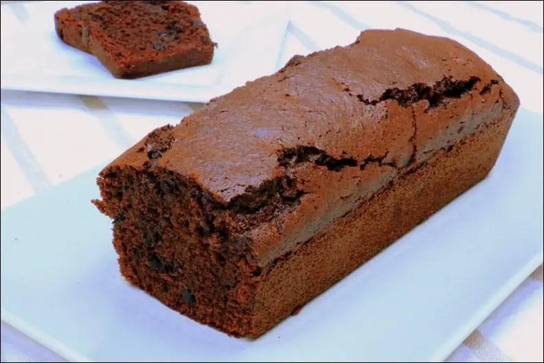 cake au chocolat d'Olivier Bajard