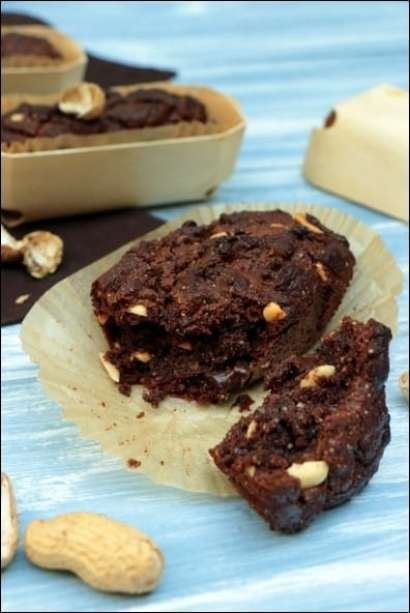 cake chocolat cacahuètes