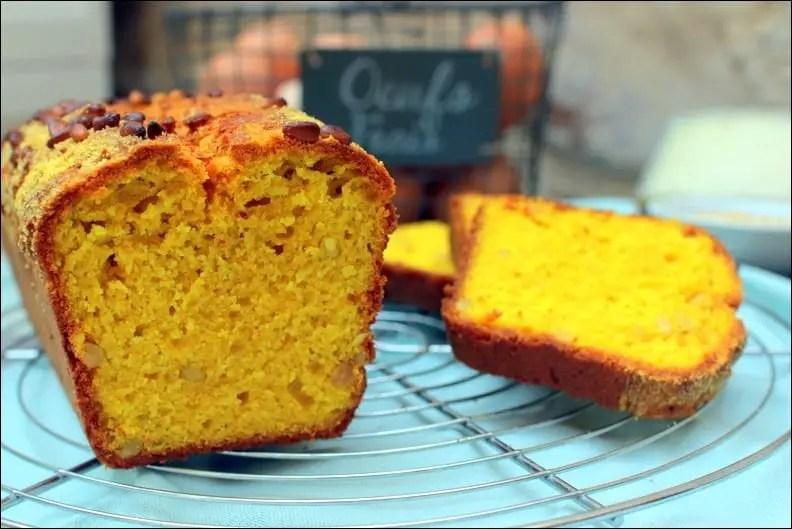 cake salé semoule de maïs
