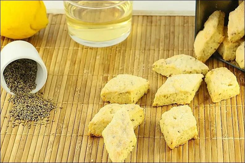 biscuits corses au vin blanc