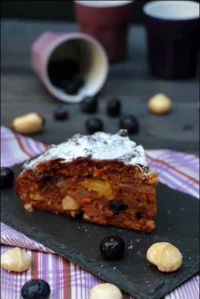cake carotte fruits secs
