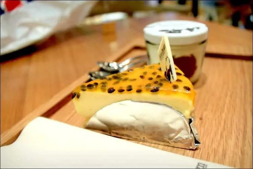 cheesecake fruit de la passion