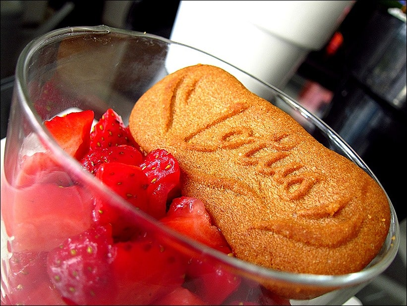 cheesecake sans cuisson fraises speculoos