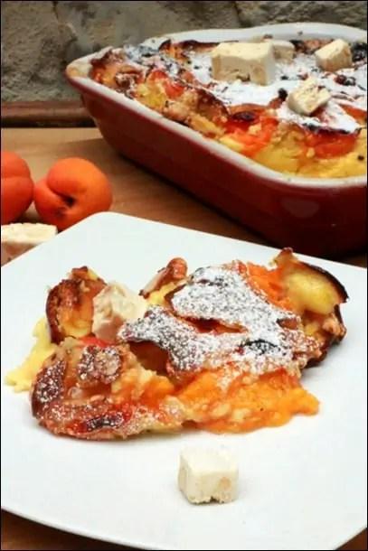 clafoutis abricot amande