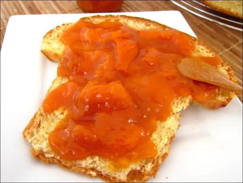 confiture abricot amande vanille