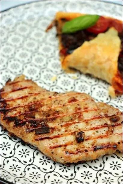 marinade a cote de porc