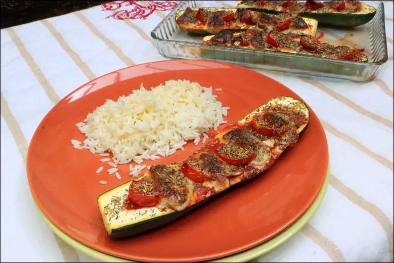 courgettes farcies mozzarella