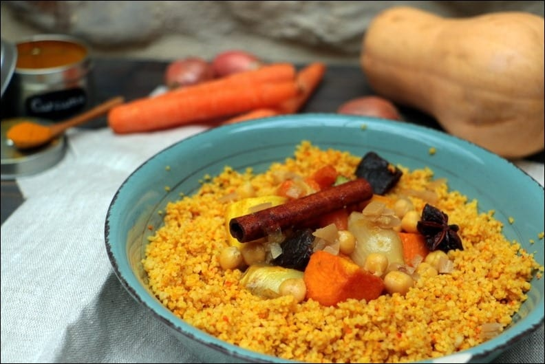 couscous legumes au four