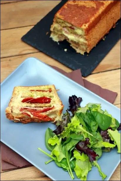 croque cake mozzarella
