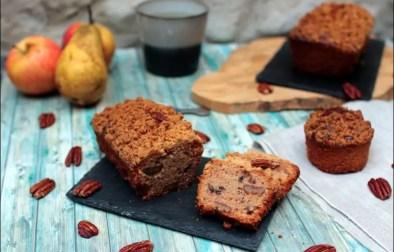 Crumble cake à la poire et à l'amaretto de Yotam Ottolenghi