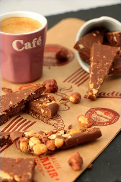chocolat nutella pralines