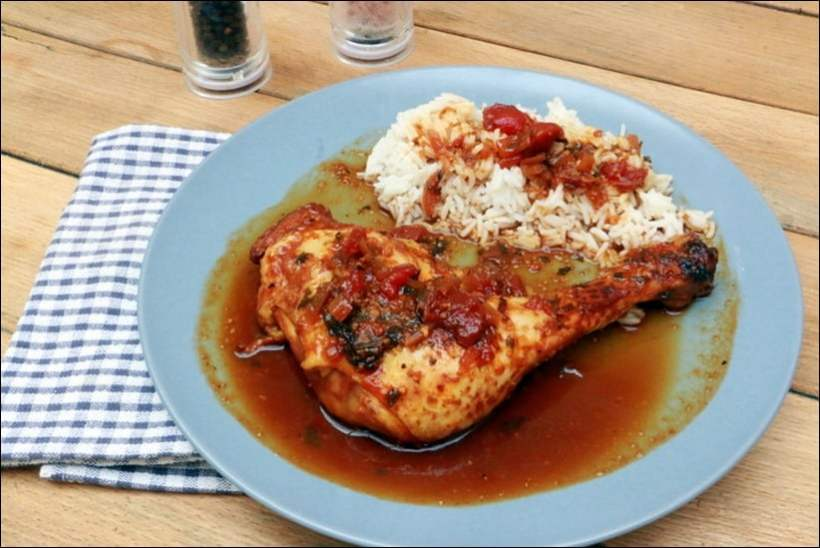 poulet roussi creole