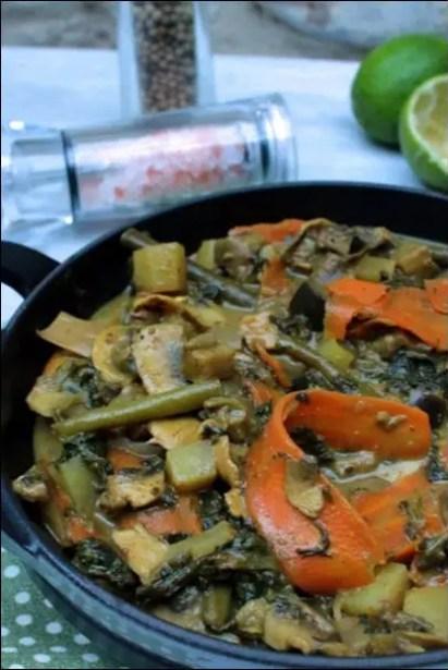 curry epinard coco
