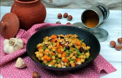 recette curry pois chiches facile