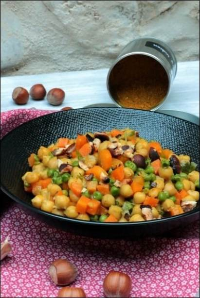 curry de pois chiches sans lait de coco