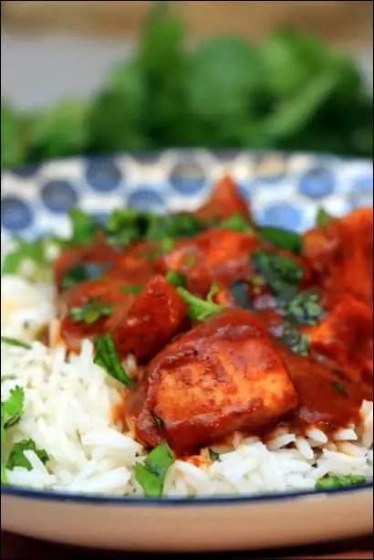 curry poulet thai