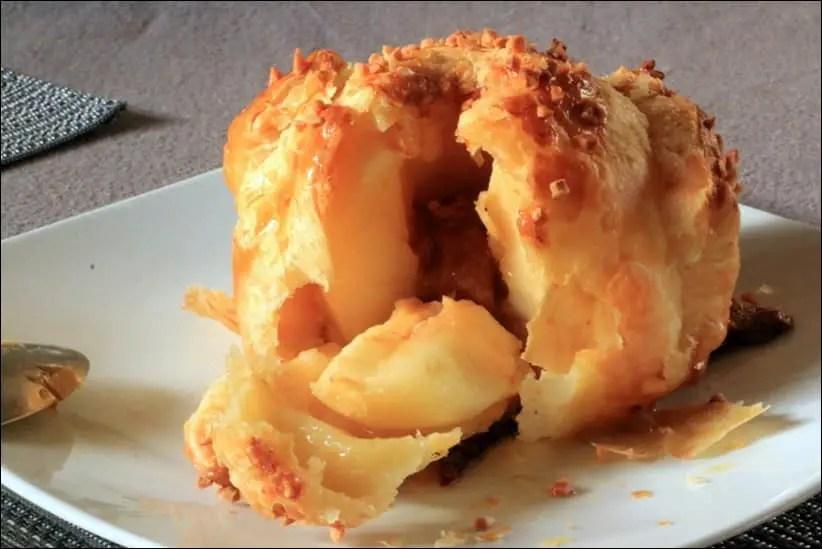douillons de pomme au caramel
