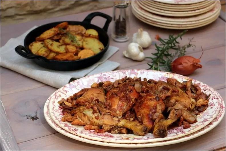 fricassée de poulet de Gordon Ramsay