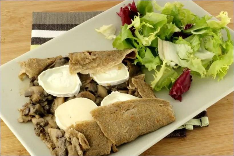 crepes bretonnes champignons