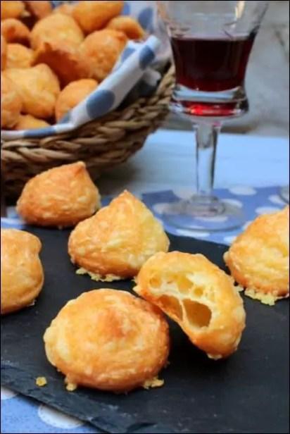 gougères fromage apéritif